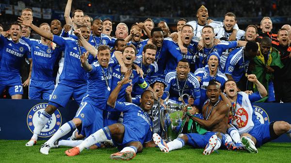 Chelsea vô địch vô địch ở UEFA Champions League năm 2012