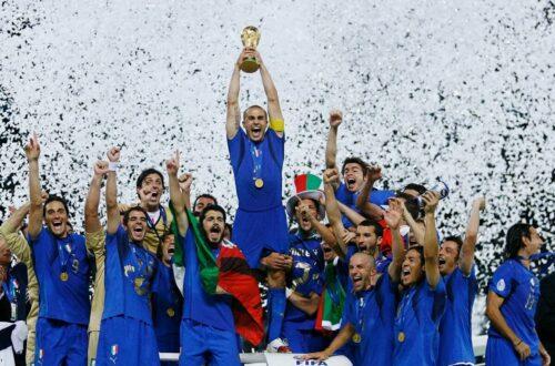 Italia vô địch world cup bao nhiêu lần trong lịch sử?